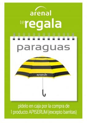 Regalo paraguas Apiserum.