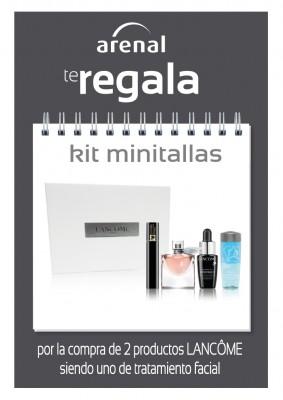 Regalo kit minitallas Lancôme.