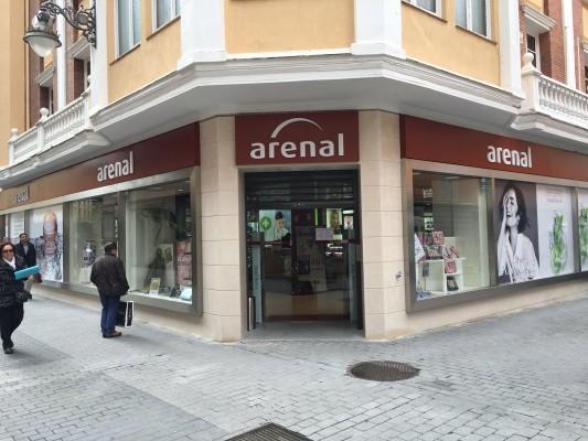 Nueva tienda Arenal en Valladolid