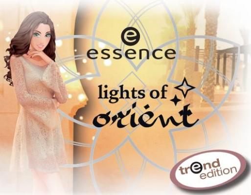 Novedad moda Essence lights of orient.