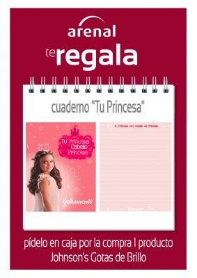 Regalo cuaderno 'Tu Princesa'