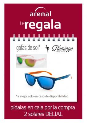 Regalo gafas de sol Delial.