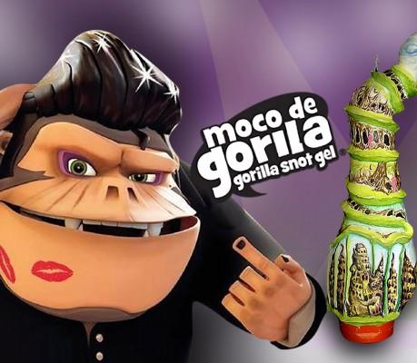 Novedad Moco de Gorila.
