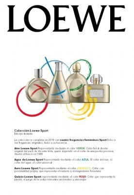 Novedad Loewe Sport femeninas.