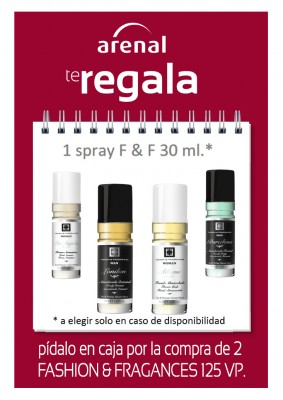 Regalo spray Fashion & Fragances 30 ml.