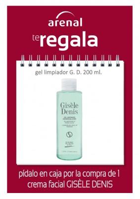 Regalo gel limpiador Gisèle Denis 200 ml.