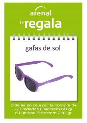 Regalo gafas de sol Fisiocrem.