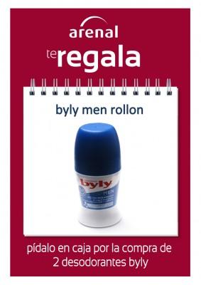Regalo desodorante byly men.