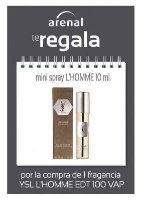 Regalo mini spray L'HOMME.