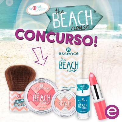 Consurso essence!! gana un set THE BEACH HOUSE.