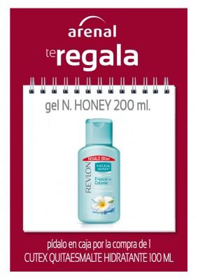 Regalo gel Natural Honey 200 ml.