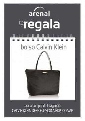 Regalo bolso Calvin Klein.