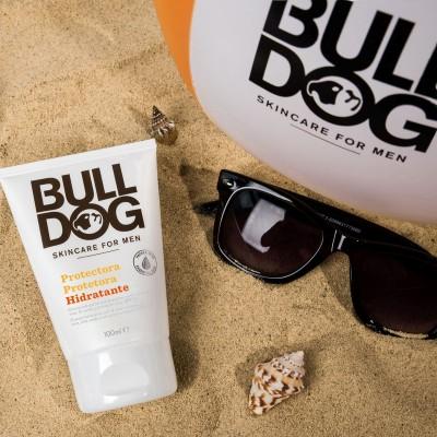 Novedad Bulldog, cosmética masculina.