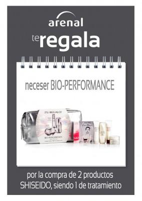 Regalo neceser Shiseido Bio Performance.