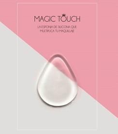 Novedad esponja de silicona Magic Touch.