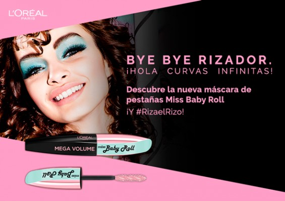 Novedad mácara Miss Baby Roll de L'oréal.