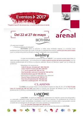 Eventos alta perfumería del 22 al 27 de mayo.