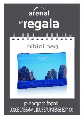 Regalo bikini bag Dolce Gabbana.
