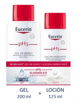 Regalo gel 200+ loción 125 Eucerin.