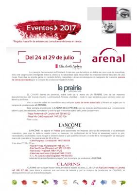 Eventos alta perfumería del 24 al 29 de julio.