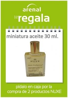 Regalo miniatura aceite NUXE Prodigieuse 30 ml.