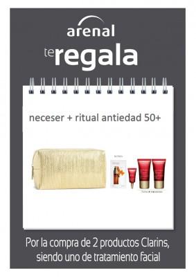 Regalo nececer Clarins + Ritual Antiedad.