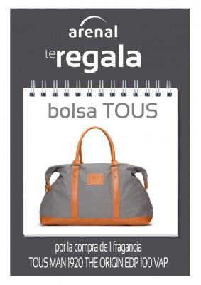 Regalo bolsa Tous.