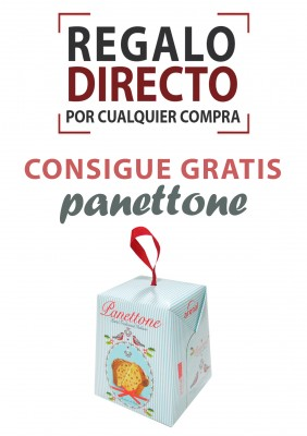 Regalo 🎁 exclusivo anotación FACEBOOK-TWITTER 🍞 Panettone gratis.