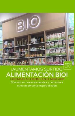 Arenal aumenta su surtido en alimentación Bio 💚💚