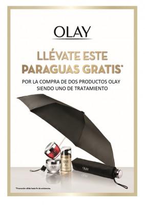 Regalo paraguas Olay.