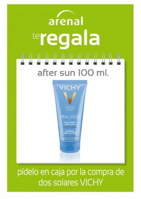 Regalo after sun Vichy.
