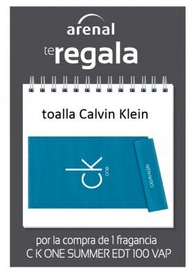 Regalo toalla Calvin Klein