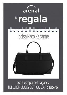 Regalo bolsa Weekend Paco Rabanne