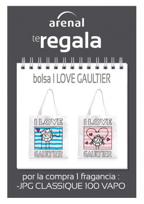 Regalo bolsa Gaultier