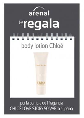 Regalo body lotion Chloé