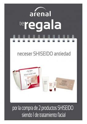 Regalo neceser antiedad Shiseido