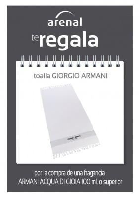 Regalo toalla Giorgio Armani