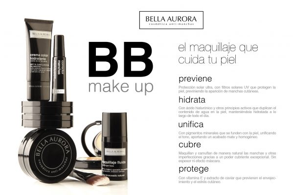 ¡¡¡NOVEDAD BB MAKE UP, BELLA AURORA!!!